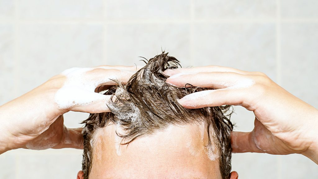 Regular hair wash - Awesome Men