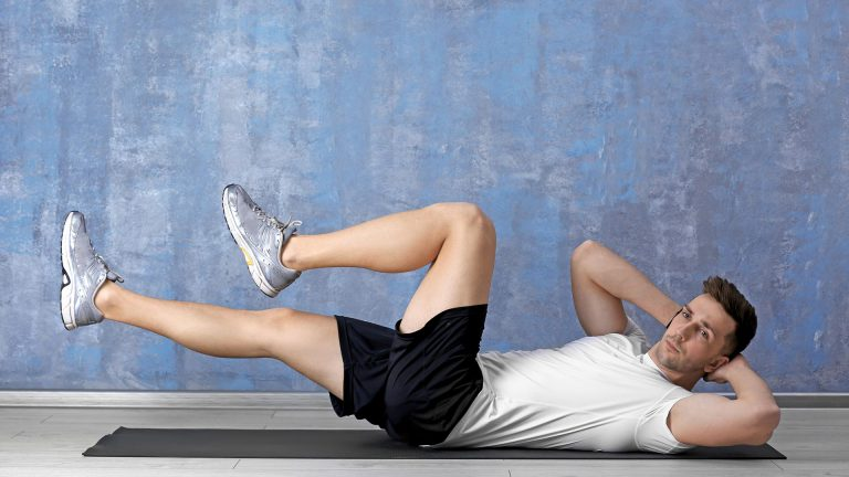 Bicycle Crunches - Home Workout for Men