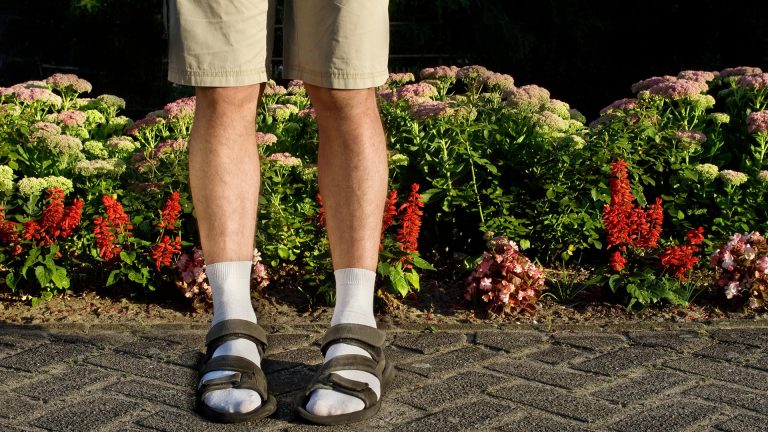 Wearing socks with sandals - Mens Fashion Blog