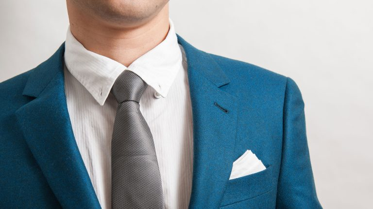 White Pocket Square - Cinthol Awesome Men
