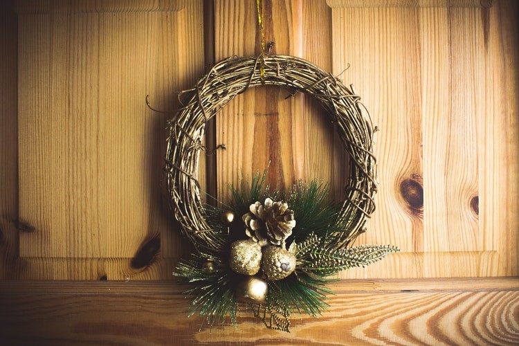 Experiment with wreaths - Christmas Decoration