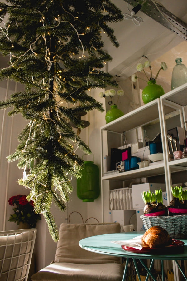 Join the upside down tree trend - Christmas Decoration