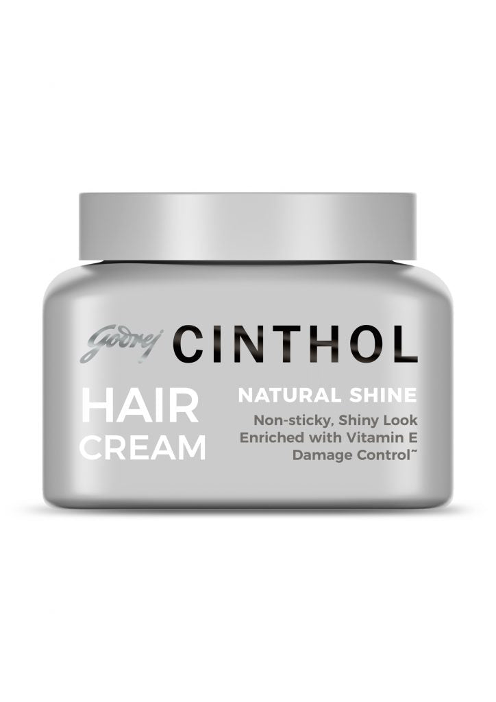 Godrej Cinthol Hair Cream (Natural Shine) - Awesome Men