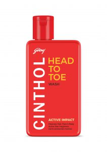 Cinthol Head to Toe Wash - Awesome Men