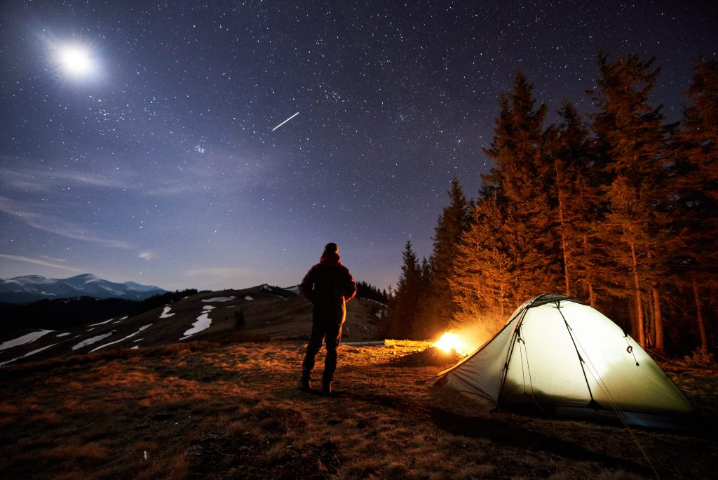 Go on a Night hike - Awesome Men