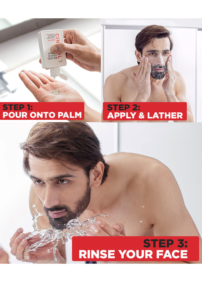 Cinthol Beard Face Wash