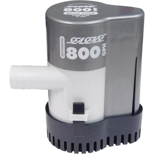 Auto Bilge Pump 800 GPH features built in float switch & ABS housing  #50010425