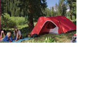 Load image into Gallery viewer, 4 people backpacking tent has excellent weather protection in the heat or cold