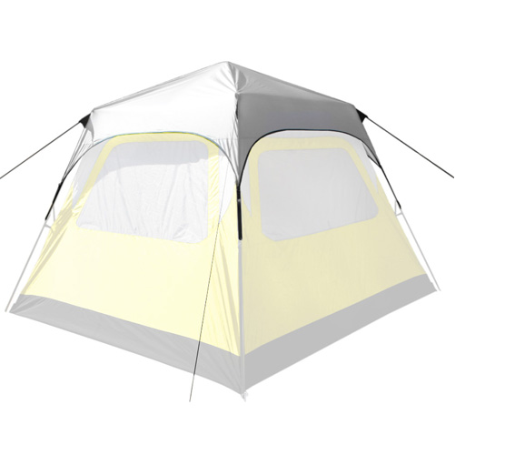 PahaQue Basecamp for added rain protection and comfort w/ waterproof material