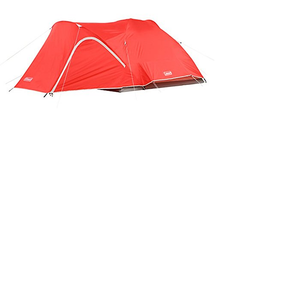 4 people backpacking tent has excellent weather protection in the heat or cold