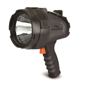 Cyclops 580 Lumen Handheld Rechargeable Spotlight-Black # CYC-580HHS