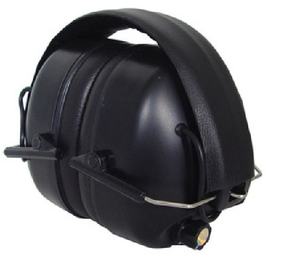 Electronic sound amplification earmuff with an independent microphone