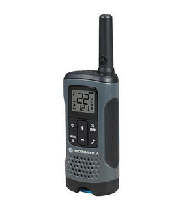 Motorola T200TP Radio features compact featherweight design for comfort