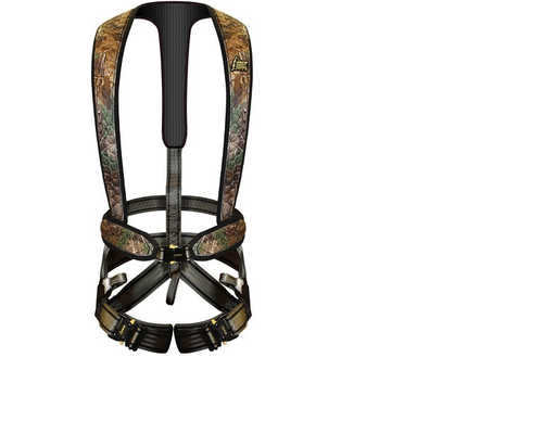 2X/3X Flex harness offers lightweight and flexibility for  comfort in the stand.