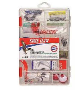 Eagle Claw Freshwater tackle kit for the fisherman in your life #TK-FRESH