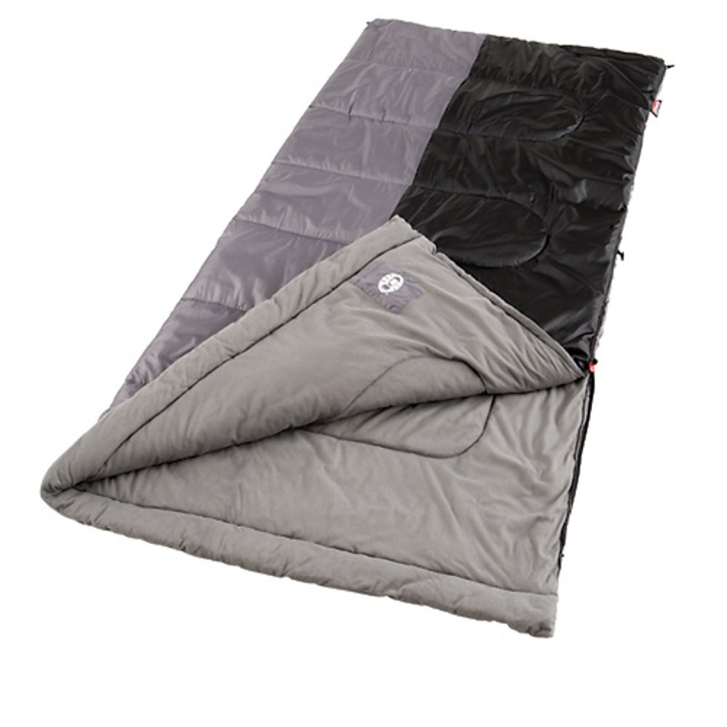 Coleman Biscayne 81x39  warm weather sleeping bag with Fiberlock Construction