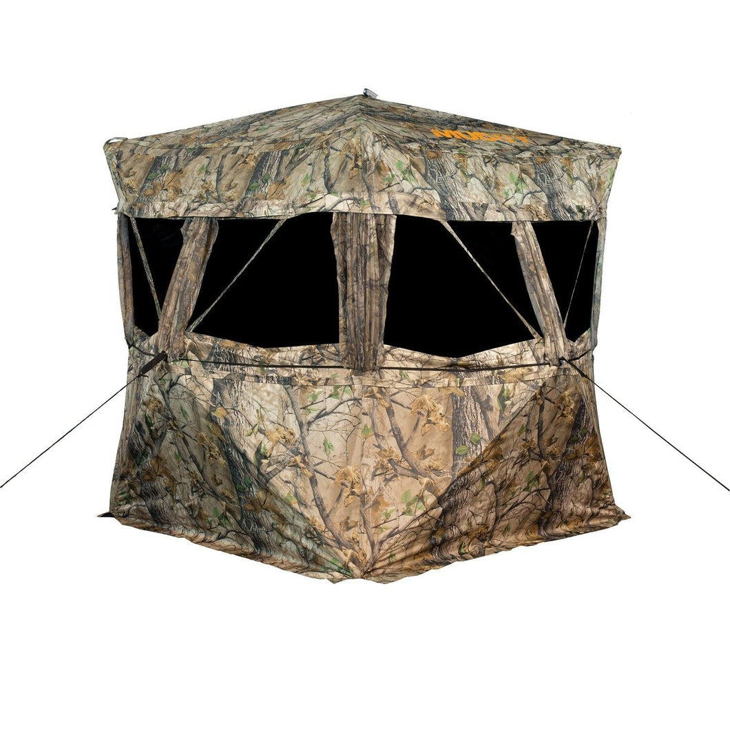 Muddy VS360 has full 360 degree view and shooting capabilities for great hunting