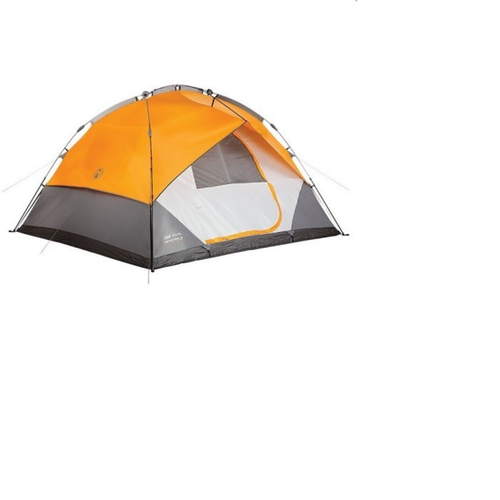 5 Person Double Hub Tent w/ instant dome compact and quick-pitching by Coleman