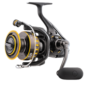 Next generation Daiwa saltwater spinning reel, leaner and meaner  #BG4000 Medium