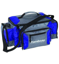 Load image into Gallery viewer, Flambeau Graphite Blue Fishing Bag FL-6189TB