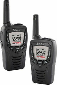 Altis Global Limited 2 pack Cobra hand held Radios with 23 mile range plus 10 NOAA Weather Channels
