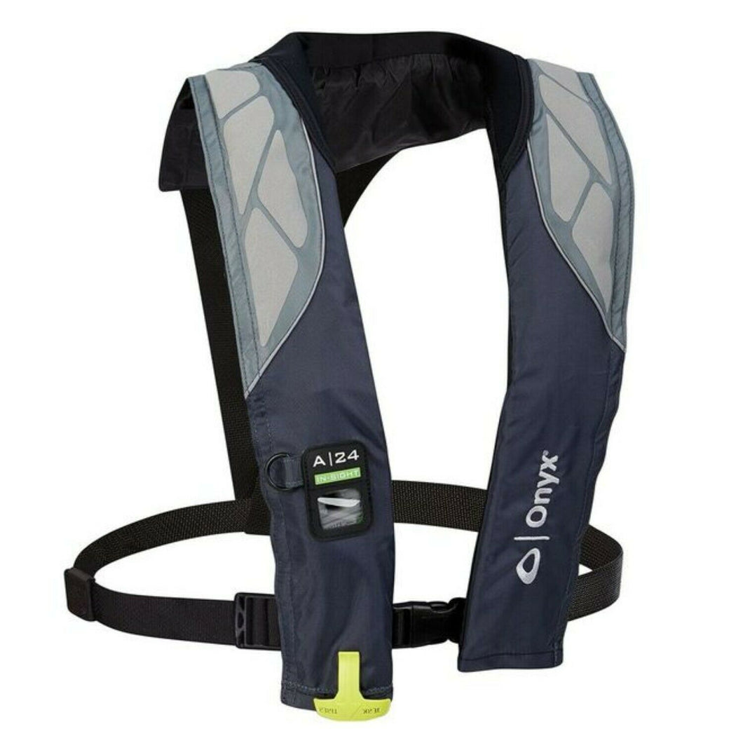 Onyx A-24 In-Sight Automatic Inflatable Adult Life Jacket #133200-701-004-18