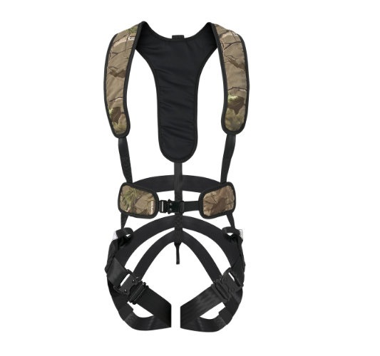 L/XL lightweight  Bowhunter harness is trim fitting,brushed fabric for silence