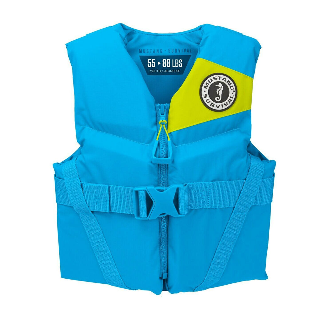 Mustang Survival Youth Foam vest has a flexible fit to fit better #MV3570 268