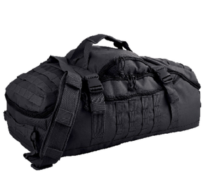 This Versatile Traveler Duffle Pack can be used many ways  - BLACK # RR80260BLK
