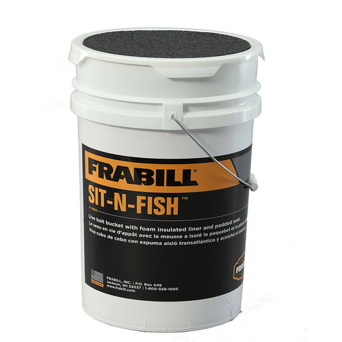 Frabill Sit-N-Fish Bucket   #160024