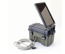 Load image into Gallery viewer, HME 12V Solar Aux Power Pack, waterpfoof to extend your cameras life  #12VBBSOL
