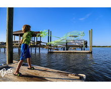 Load image into Gallery viewer, Kids casting net by Betts Quick Throw for young anglers to explore marine waters