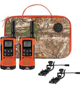 Motorola 2-way Radio/FRS including Camo Carry Case and Earbuds #T265