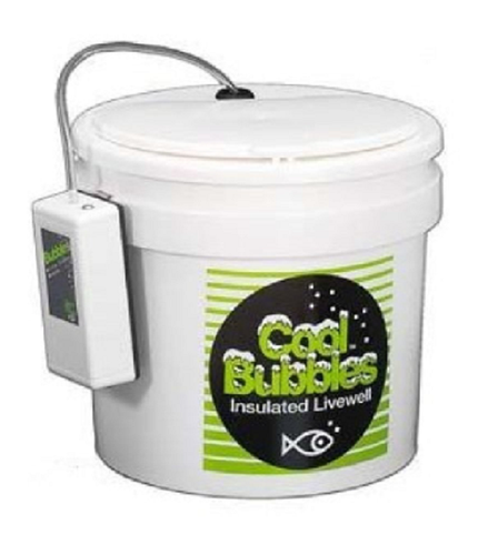 COOL BUBBLES AIR PUMP 11 QT INSULATED PAIL