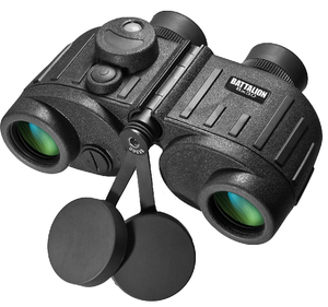 BARSKA 8 X 30 WATERPROOF BATTALION BINOCULAR WITH RANGEFINDER