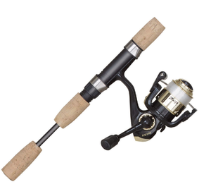 BNM BUCKS GRAPHITE SPINNING COMBO 2PC 5FT 6IN BM100