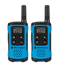 Load image into Gallery viewer, T100 2 Pack 16 Mile Range Blue Radios