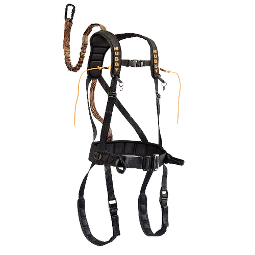 MUDDY SAFEGUARD HARNESS - BLACK L #MSH400-L