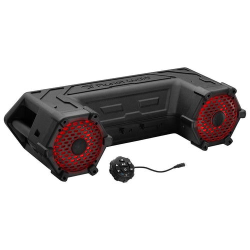 Planet Audio Off Road ATV Sound System, 6.5″ Marine Speakers, Bluetooth, RGB LED Bar