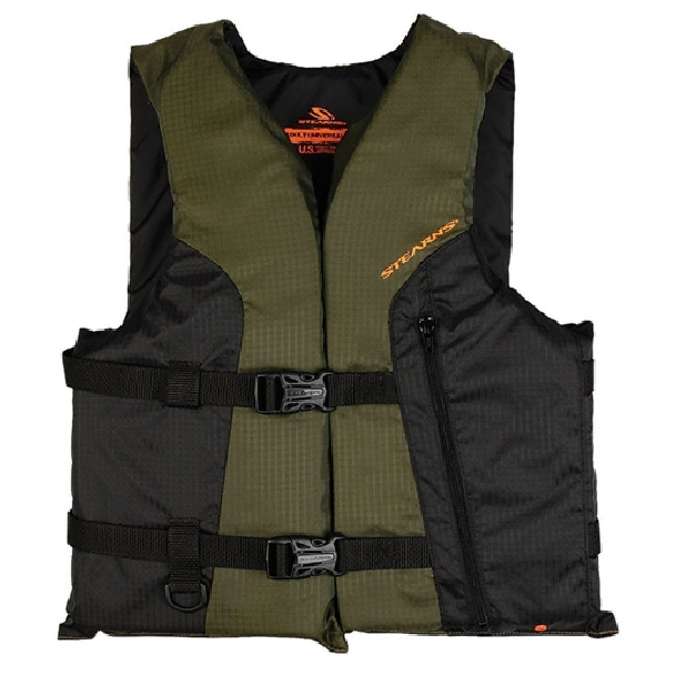 STEARNS ADULT PFD 4100 SPRT VEST OVER SIZE GRN 2000013807