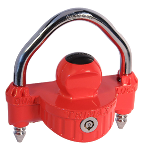TRIMAX DIE-CAST NARROW BODY COUPLER LOCK 0.5 IN SHACKLE #UMAX25