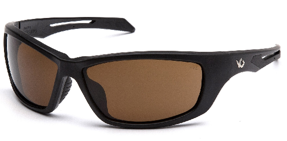 VENTURE GEAR HOWITZER BLACK FRAME BRONZE ANTI FOG LENS Sun / Shooting Glasses