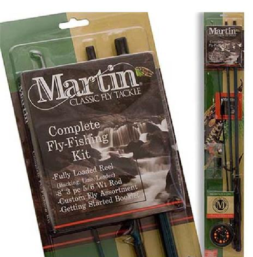 ZEB-MRT56TK-6L-BP6 MARTIN COMPLETE FLY ROD KIT 21-22272