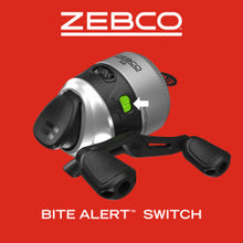 Load image into Gallery viewer, Zebco 33 Micro 2 Piece Trigger Spinning Combo #33MT502ULA