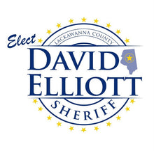 Load image into Gallery viewer, Elect David Elliott Lackawanna County Sheriff Fundraiser