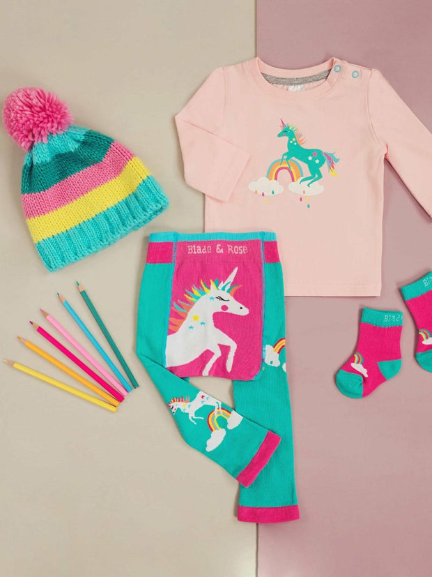 Magical Flying Unicorn Legging