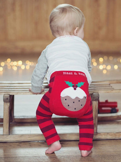 Christmas Pudding Leggings