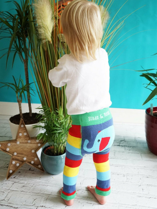 Organic WWF Elephant Leggings