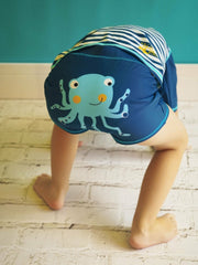 Octopus Swim Shorts