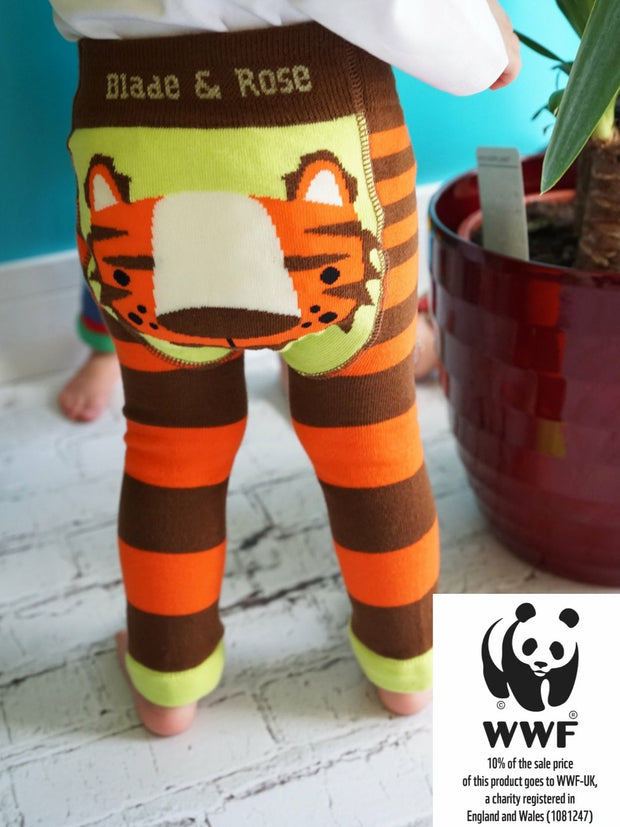 Organic WWF Tiger Leggings